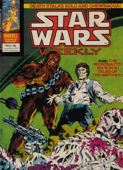 Cover for Star Wars Weekly (1978 series) #65