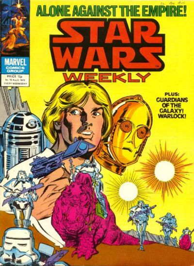 Cover for Star Wars Weekly (Marvel UK, 1978 series) #76
