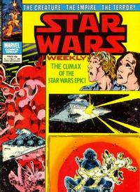 Cover for Star Wars Weekly (1978 series) #117