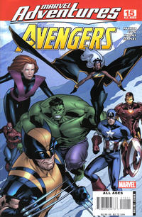 Cover Thumbnail for Marvel Adventures The Avengers (Marvel, 2006 series) #15