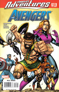 Cover for Marvel Adventures The Avengers (Marvel, 2006 series) #18