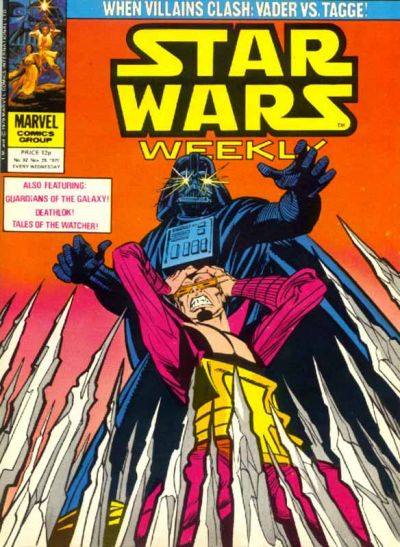 Cover for Star Wars Weekly (Marvel UK, 1978 series) #92