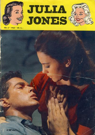 Cover for Julia Jones (Se-Bladene - Stabenfeldt, 1963 series) #3/1964
