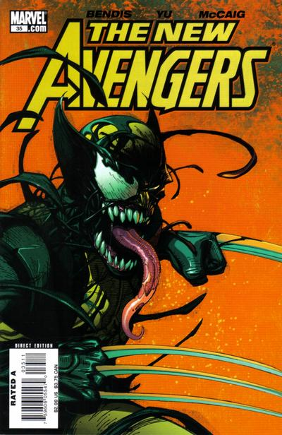 Cover for New Avengers (Marvel, 2005 series) #35