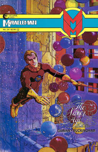 Cover Thumbnail for Miracleman (Eclipse, 1985 series) #24