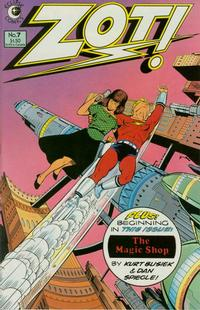 Cover Thumbnail for Zot! (Eclipse, 1984 series) #7
