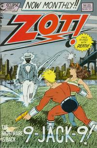 Cover Thumbnail for Zot! (Eclipse, 1984 series) #23