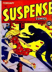 Cover Thumbnail for Suspense Comics (Temerson / Helnit / Continental, 1943 series) #2