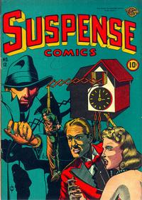 Cover Thumbnail for Suspense Comics (Temerson / Helnit / Continental, 1943 series) #12
