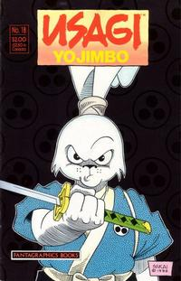 Cover Thumbnail for Usagi Yojimbo (Fantagraphics, 1987 series) #18