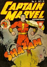 Cover Thumbnail for Captain Marvel Adventures (Fawcett, 1941 series) #4