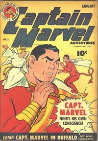 Cover Thumbnail for Captain Marvel Adventures (Fawcett, 1941 series) #31