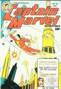 Cover Thumbnail for Captain Marvel Adventures (Fawcett, 1941 series) #96