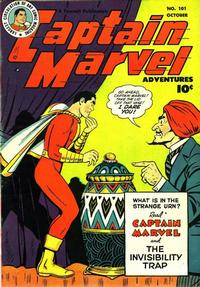 Cover Thumbnail for Captain Marvel Adventures (Fawcett, 1941 series) #101