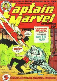 Cover Thumbnail for Captain Marvel Adventures (Fawcett, 1941 series) #118
