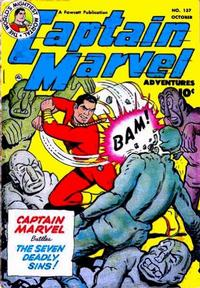 Cover for Captain Marvel Adventures (1941 series) #137