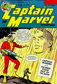Cover Thumbnail for Captain Marvel Adventures (Fawcett, 1941 series) #143