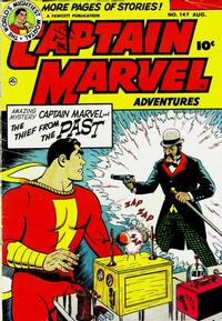 Cover Thumbnail for Captain Marvel Adventures (Fawcett, 1941 series) #147