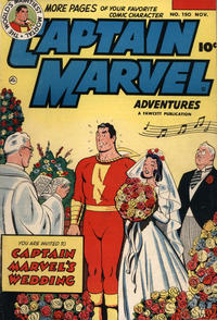 Cover Thumbnail for Captain Marvel Adventures (Fawcett, 1941 series) #150