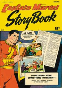 Cover Thumbnail for Captain Marvel Story Book (Fawcett, 1946 series) #1