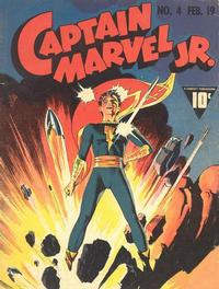 Cover Thumbnail for Captain Marvel Jr. (Fawcett, 1942 series) #4