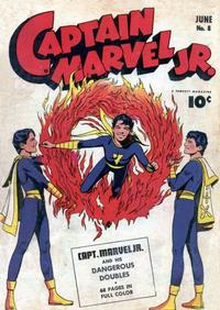 Cover Thumbnail for Captain Marvel Jr. (Fawcett, 1942 series) #8