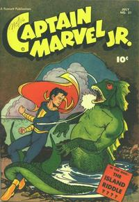 Cover Thumbnail for Captain Marvel Jr. (Fawcett, 1942 series) #51