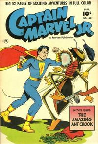 Cover Thumbnail for Captain Marvel Jr. (Fawcett, 1942 series) #89