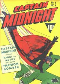 Cover Thumbnail for Captain Midnight (Fawcett, 1942 series) #3