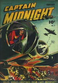 Cover Thumbnail for Captain Midnight (Fawcett, 1942 series) #17