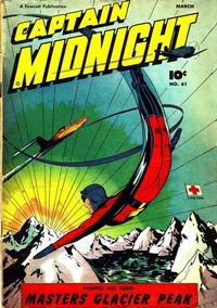 Cover Thumbnail for Captain Midnight (Fawcett, 1942 series) #61
