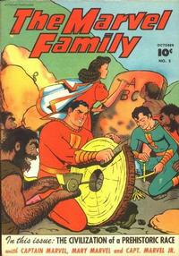 Cover Thumbnail for The Marvel Family (Fawcett, 1945 series) #5