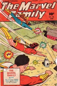 Cover Thumbnail for The Marvel Family (Fawcett, 1945 series) #24