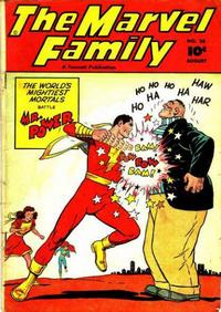 Cover Thumbnail for The Marvel Family (Fawcett, 1945 series) #26