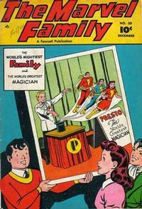Cover Thumbnail for The Marvel Family (Fawcett, 1945 series) #30