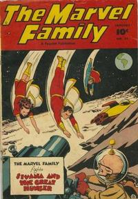 Cover Thumbnail for The Marvel Family (Fawcett, 1945 series) #31