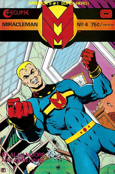 Cover for Miracleman (Eclipse, 1985 series) #4