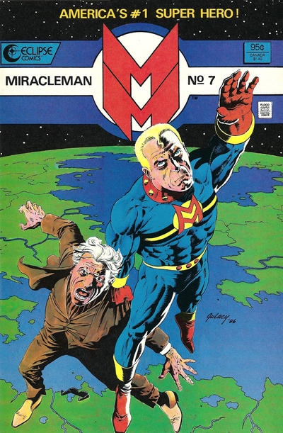 Cover for Miracleman (Eclipse, 1985 series) #7