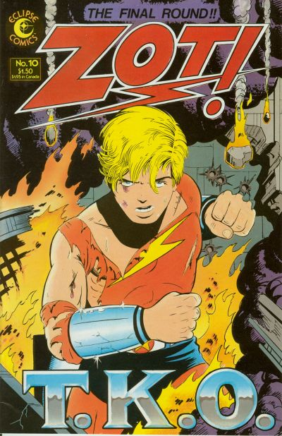 Cover for Zot! (Eclipse, 1984 series) #10