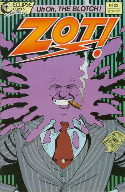 Cover for Zot! (Eclipse, 1984 series) #22