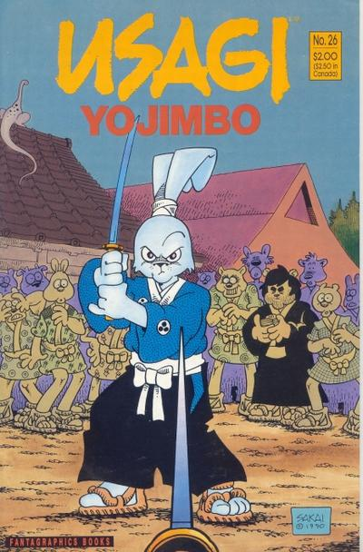 Cover for Usagi Yojimbo (Fantagraphics, 1987 series) #26