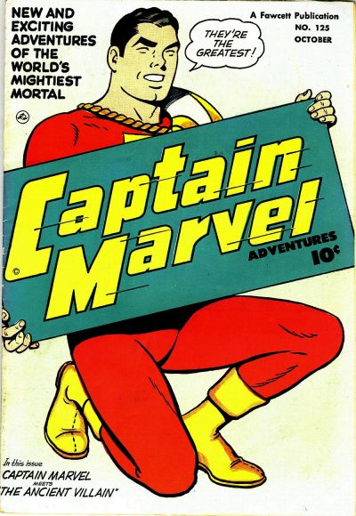 Cover for Captain Marvel Adventures (1941 series) #125