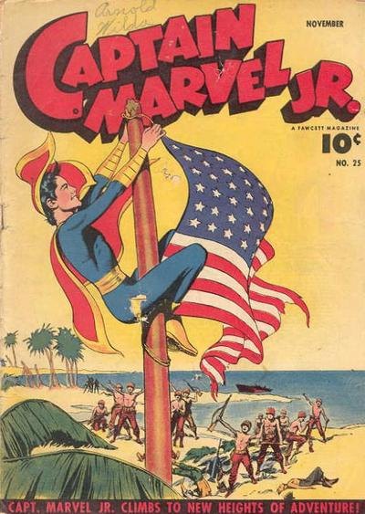 Cover for Captain Marvel Jr. (Fawcett, 1942 series) #25