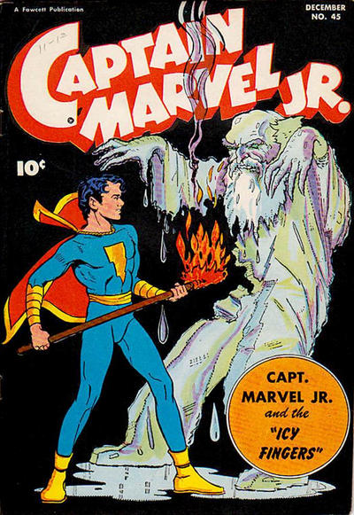 Cover for Captain Marvel Jr. (1942 series) #45