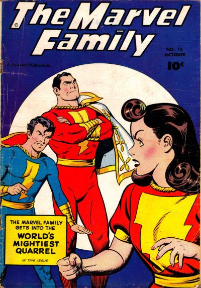Cover for The Marvel Family (Fawcett, 1945 series) #16
