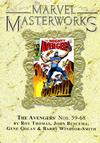 Cover Thumbnail for Marvel Masterworks: The Avengers (2003 series) #7 (84) [Limited Variant Edition]