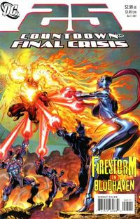 Cover for Countdown (DC, 2007 series) #25