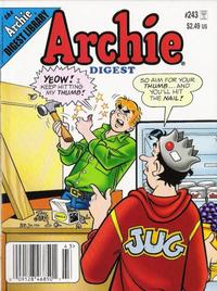 Cover for Archie Comics Digest (Archie, 1973 series) #243