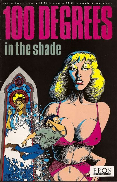 Cover for 100 Degrees in the Shade (Fantagraphics, 1992 series) #4