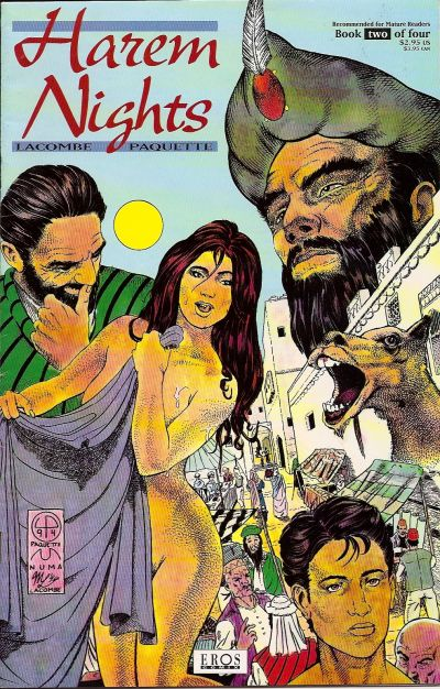 Cover for Harem Nights (Fantagraphics, 1993 series) #2